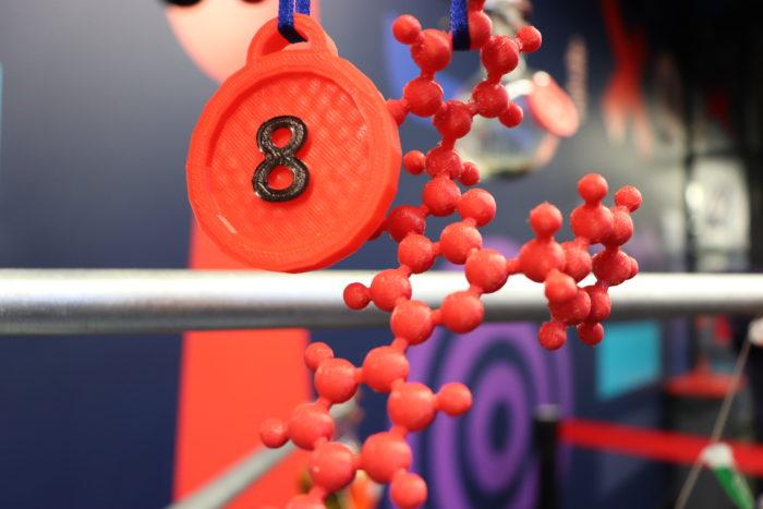 number 8 of chemistree