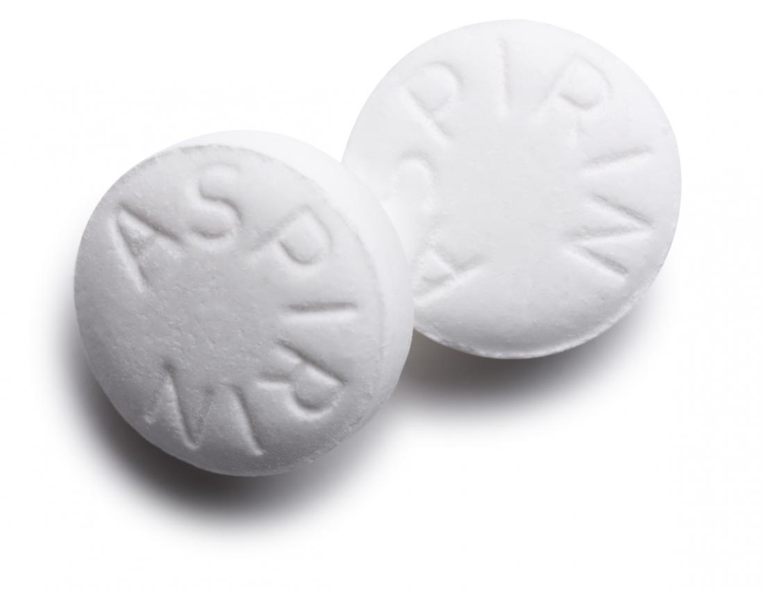 photo of aspirin bispirin