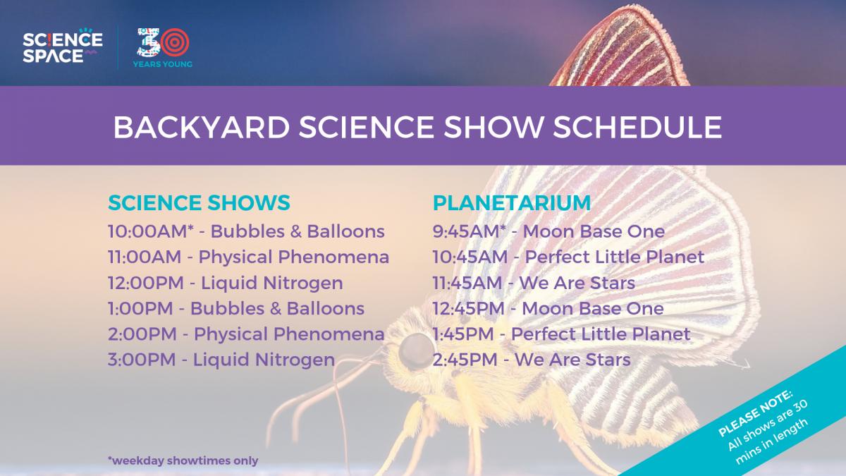 Backyard Science Tv Show   behindthetxrget